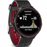 Спортивные часы Garmin Forerunner 235 Black/Marsala Red (010-03717-71), фото 1