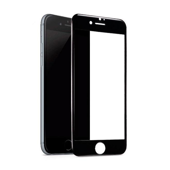 Защитное стекло Full GLUE 2.5D IPhone 7 Puls / 8 Puls (Черный)