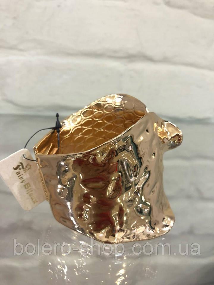 Браслет женский  металл итальянская бижутерия золото