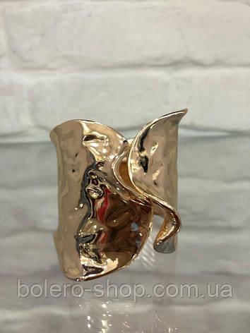 Браслет женский  металл итальянская бижутерия золото, фото 2