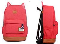 Оригинальный рюкзак Кот. Красный