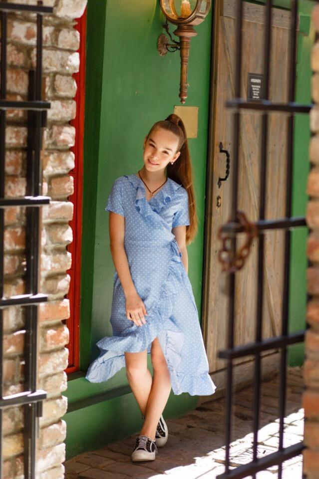 Платье LiLove 524-3 146 голубой