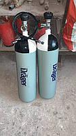 Баллон высокого давления Drager  6 литров 300 атм, для заправки РСР пневматики. С документами.