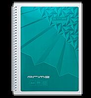 Блокнот А4 96л PRIME пружина сбоку, карт. обложка, фото 1
