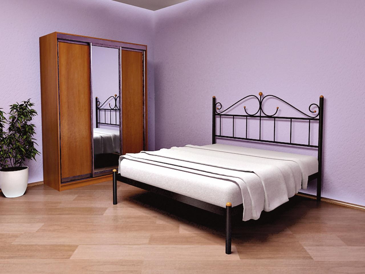 Кровать Метакам Rosana-1 (Розана-1). Металлическая кровать. Метакам