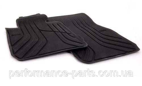 Оригинальные задние коврики салона BMW 3 (E90, E91) (51472336599)