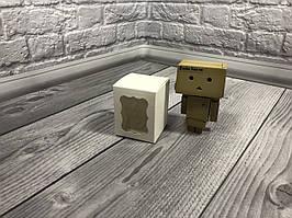 Коробка / Бонбоньерка / 60х60х75 мм / Белый / окно-обычн