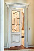 Двері міжкімнатні (двери) з масиву дерева (ясен, дуб, клен).