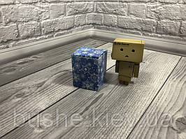 Коробка / Бонбоньерка / 60х60х75 мм / печать-Снег.Син / б.о. / НГ