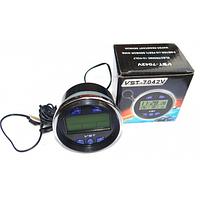 Часы-термометр с вольтметром VST 7042V D1023