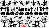Слайдер дизайн для ногтей Хеллоуин, фото 2