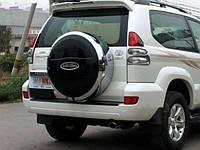 Чехол запасного колеса Toyota Prado PRD016201, фото 1