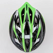 Велошлем кросс-кантри с механизмом регулировки HY032 (EPS,пластик, PVC, р-р M (55-58), цвета в ассортименте), фото 2