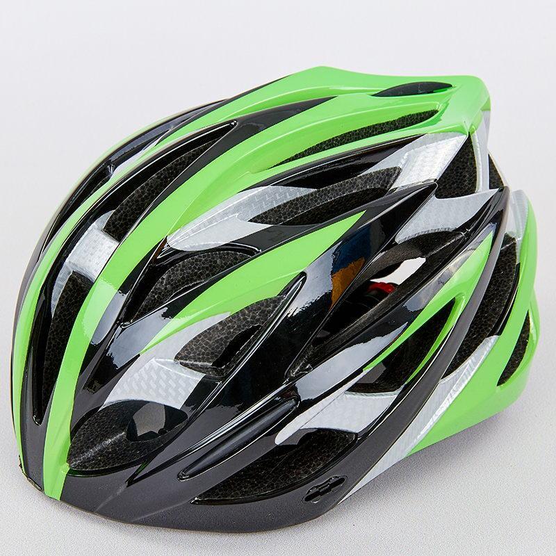 Велошлем кросс-кантри с механизмом регулировки HY032 (EPS,пластик, PVC, р-р M (55-58), цвета в ассортименте)