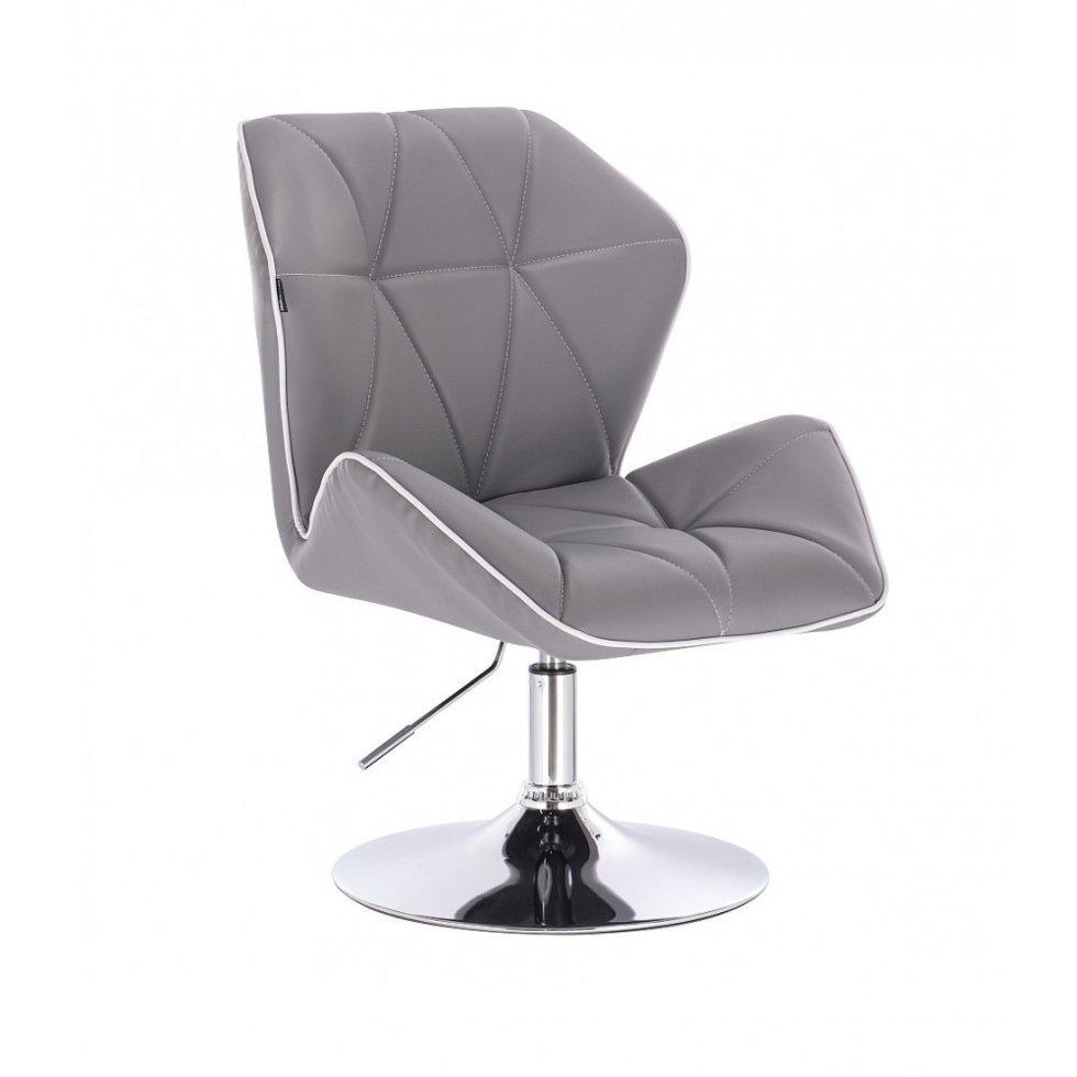 Парикмахерское кресло Hrove Form HR212, серый