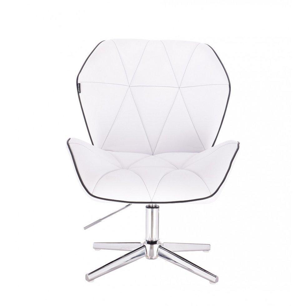 Парикмахерское кресло Hrove Form HR212C, белый