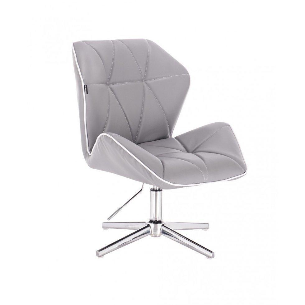 Парикмахерское кресло Hrove Form HR212C, серый