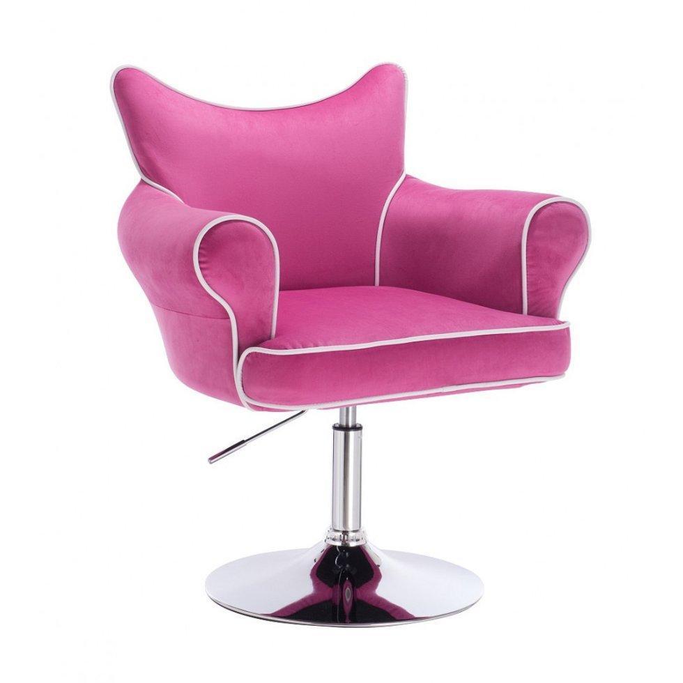 Парикмахерское кресло Hrove Form HR332N малиновый