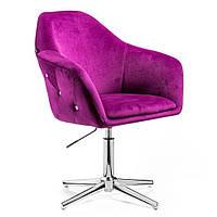 Парикмахерское кресло Hrove Form HR547C фиолетовый, фото 1