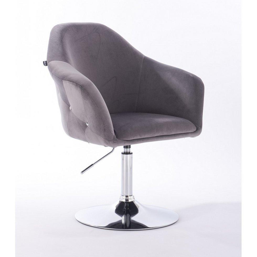 Парикмахерское кресло Hrove Form HR547N графит