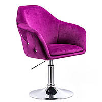 Парикмахерское кресло Hrove Form HR547N фиолетовый