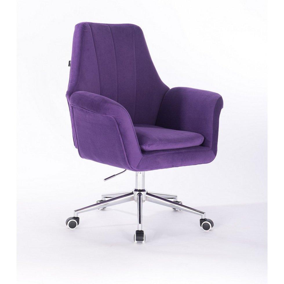 Парикмахерское кресло Hrove Form HR660K, сиреневый