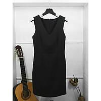 24775 Платье футляр черное классическое Kiabi