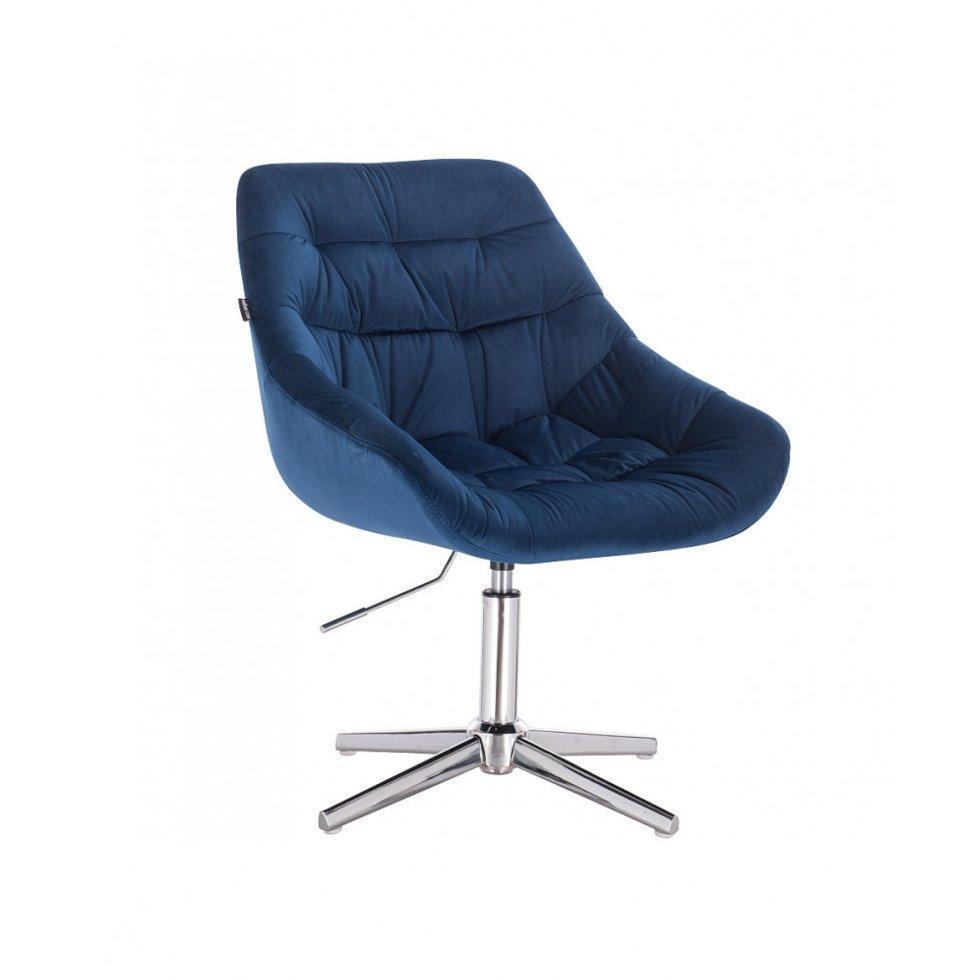 Парикмахерское кресло Hrove Form HR825C синий