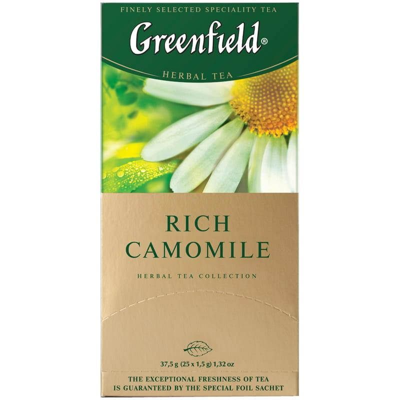 Травяной Чай Greenfield Rich Camomile (25 шт) Ромашка