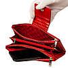 Большой женский кошелек BUTUN 507-005-006 кожаный красный, фото 5