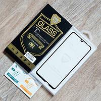 Защитное стекло Mietubl Full Glue для Huawei P Smart 2019 (POT-LX1) (черный) (клеится всей поверхностью)