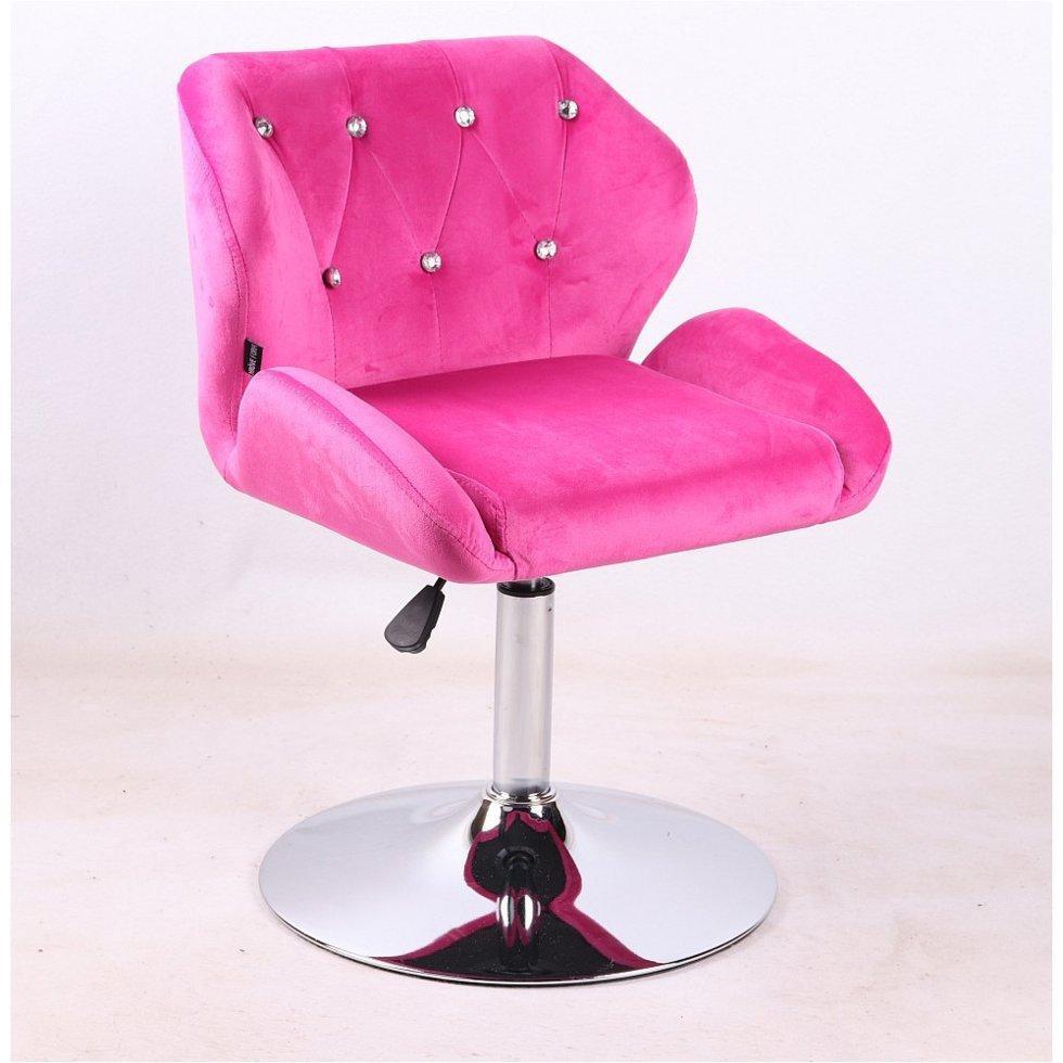 Парикмахерское кресло Hrove Form HR949N, малиновый