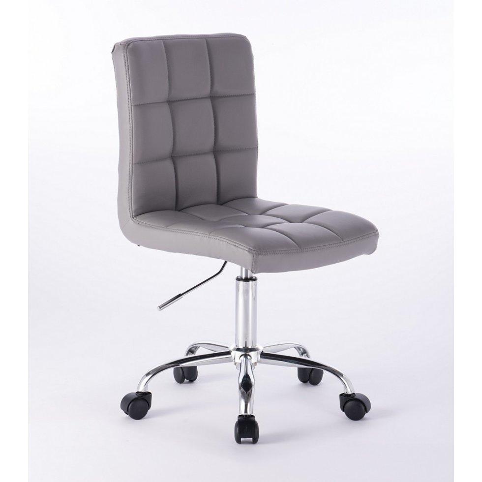 Парикмахерское кресло Votana HC1015K Новый дизайн серый