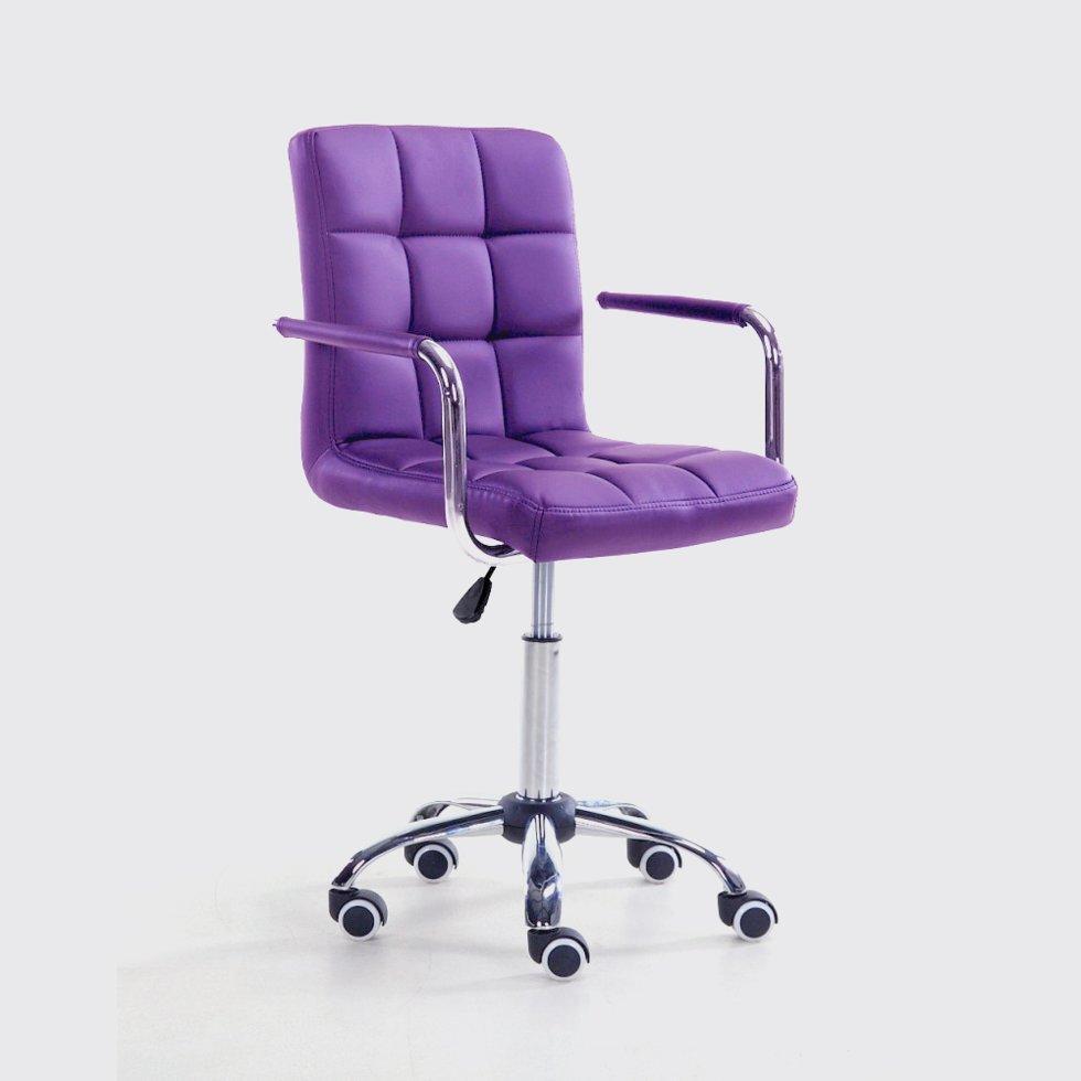 Парикмахерское кресло Votana HC1015KP фиолетовый