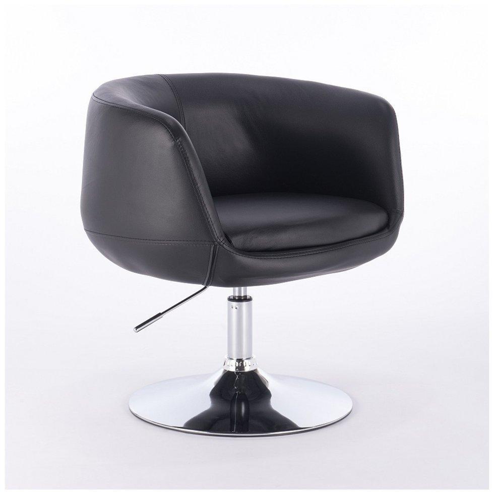 Перукарське крісло Votana HC333N чорний, шкірзам