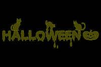 Трафарет для пряников Хэллоуин №2
