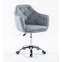 Парикмахерское кресло Votana HC831K серый, фото 1