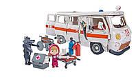 Игровой набор Simba фигурка Маши и машина скорой помощи с фигурками волков из м/ф Маша и Медведь (109309863), фото 5