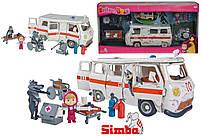 Игровой набор Simba фигурка Маши и машина скорой помощи с фигурками волков из м/ф Маша и Медведь (109309863), фото 8