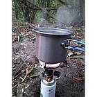 Кастрюля-кружка 0,9 л. анодированная с крышкой-сковородкой Tramp. Набор туристической посуды, фото 10