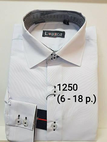 Детская однотонная рубашка Lagard, фото 2