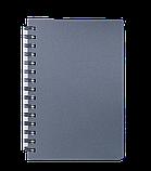 Блокнот А5 80л STATUS пружина сбоку, пластик. обложка, фото 3