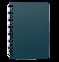 Блокнот А5 80л STATUS пружина сбоку, пластик. обложка, фото 1