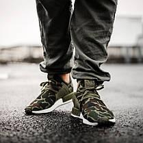 Мужские кроссовки Adidas NMD XR1 Olive Duck Camo BA7232, Адидас НМД, фото 2