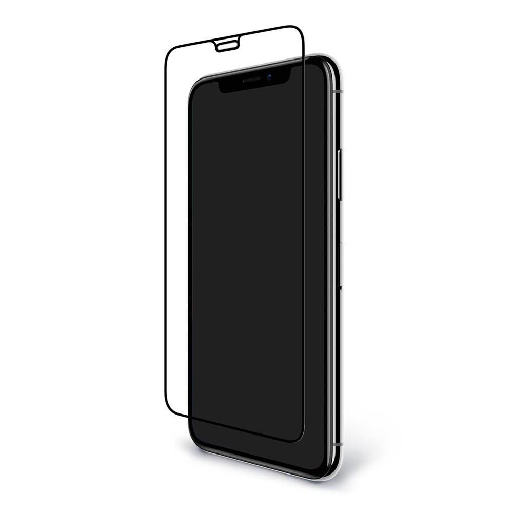 Защитное стекло Full GLUE 2.5D iPhone X (Черный)