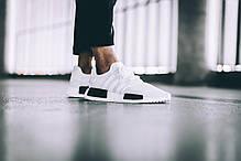 Женские кроссовки Adidas NMD R1 Oreo White/Core Black BB1968, Адидас НМД, фото 3