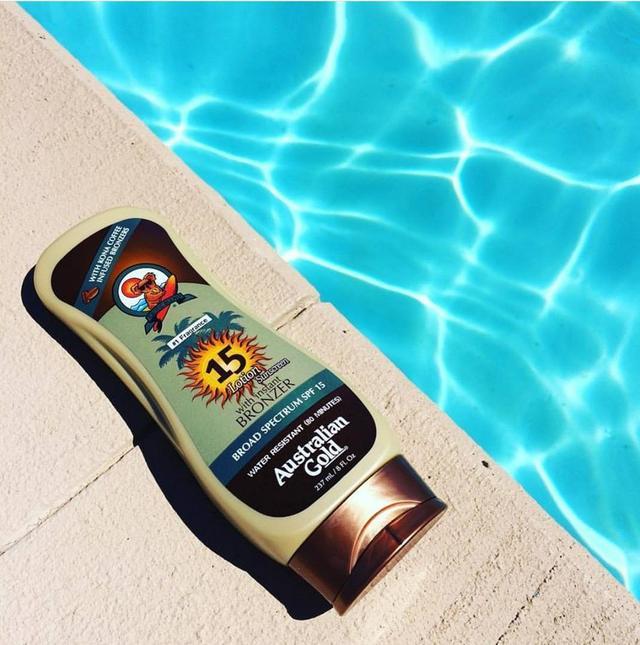 Australian Gold Sunscreen Lotion with Kona Coffee