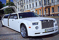 Лимузин Rolls-Royce Phantom  белый, фото 1