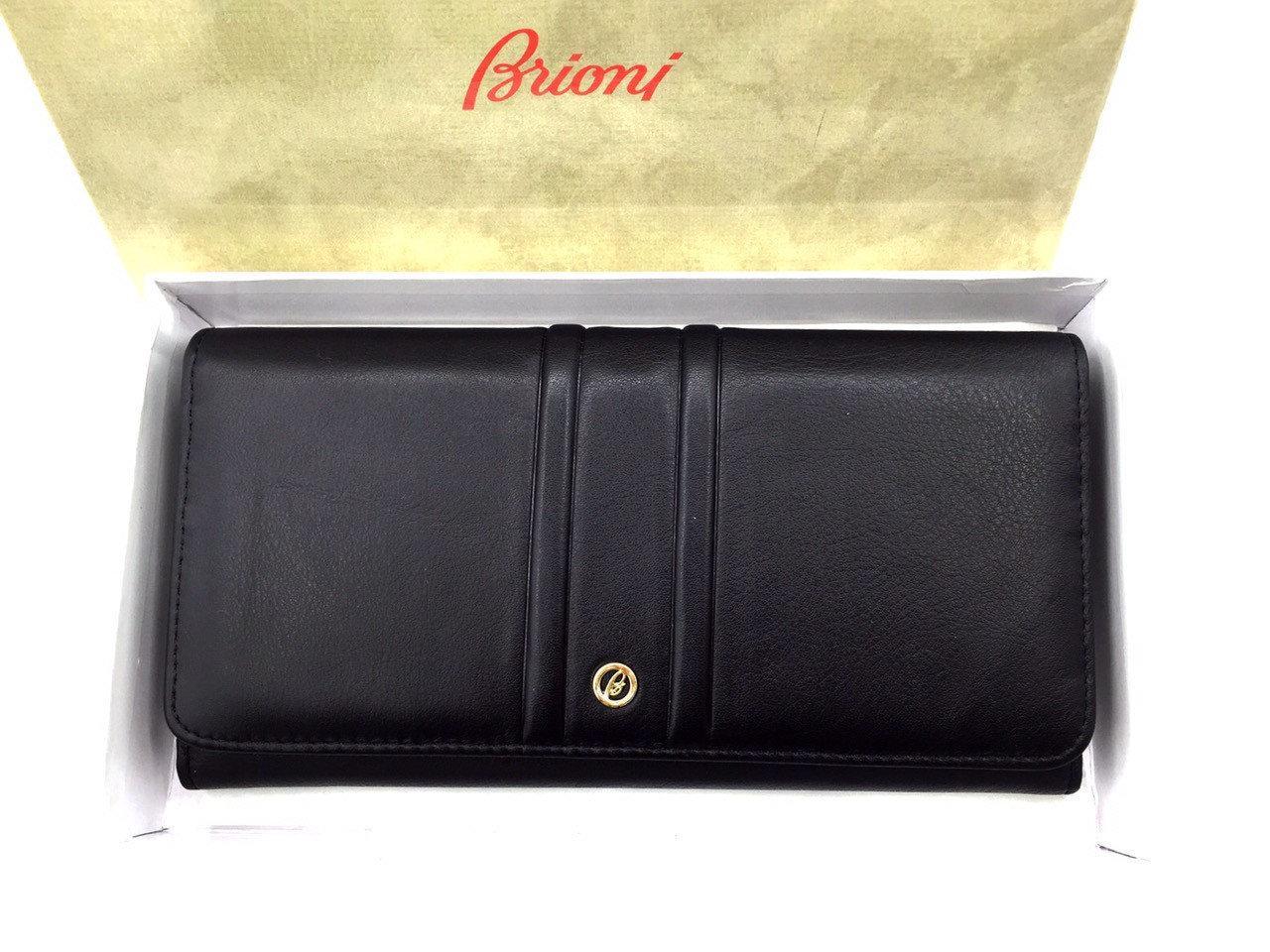 Женский кошелек Brioni (3736) leather black