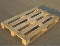 Поддон-паллет деревянный облегченный 1200х800